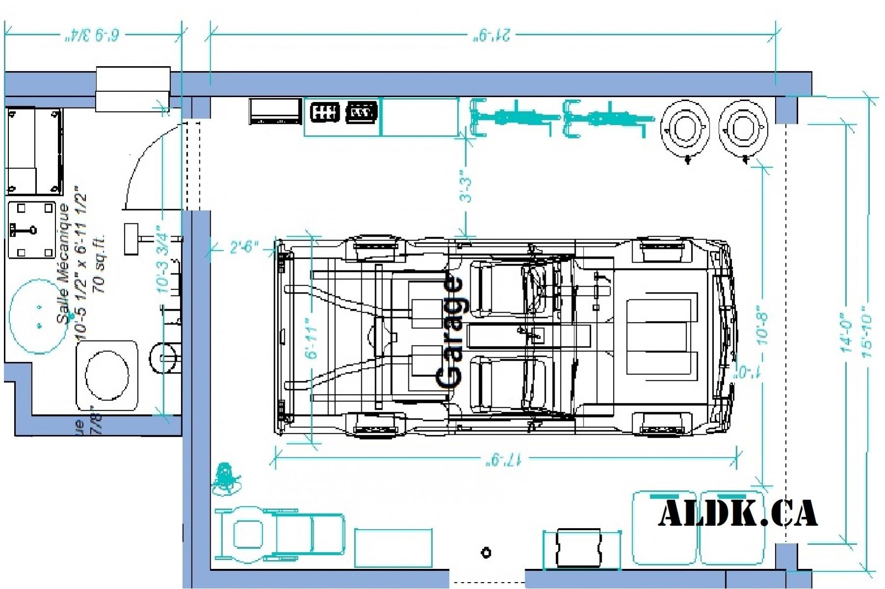 Plan PRÉ-Garage 1